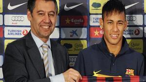Barcelona başkanı, Neymar olayından sanık oldu