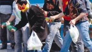 Taksim'in göbeğinde molotof kasası