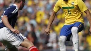 Orta Santostan gol Neymardan