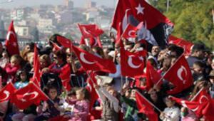 İstanbulda Cumhuriyet coşkusu
