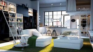 Stüdyo daireler için dekorasyon önerileri