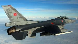 F-16lar sınıra gönderildi