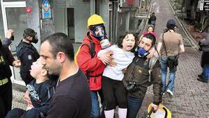 39 bin polisle Taksim kafeste