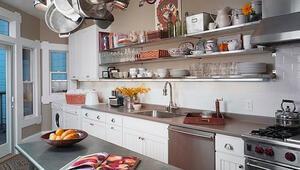 Mutfakta açık raf