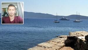 Selfie çekilirken denize düştü
