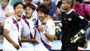 Çakırın maçında Kore güldü