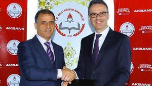 Akbank ve İstanbul İl Milli Eğitimden tasarruf için eğitim