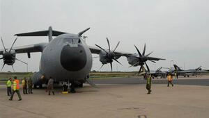 A400M ilk yurt dışı görevini yaptı