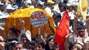 Demokrasi değil Öcalan mitingi
