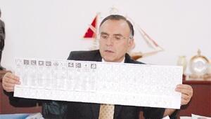 İşte dev oy pusulaları