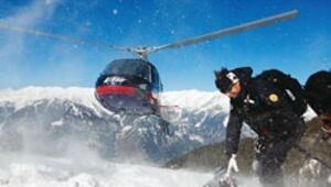 Çılgın kayakçılar Kaçkarlar'a döndü
