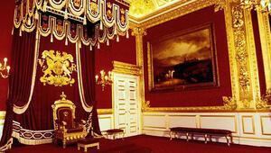 Kraliçe'den kiralık saray dairesi