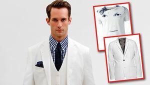 Erkekler korkmayın  beyaz giyin