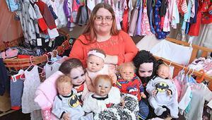 Oyuncak bebekleri için tam  73 bin TL harcıyor