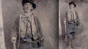 5.5 cm'lik Billy the Kid fotoğrafı 4.5 milyon lira