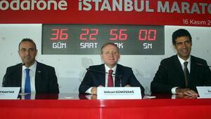 36. Vodafone İstanbul Maratonu için geri sayım başladı