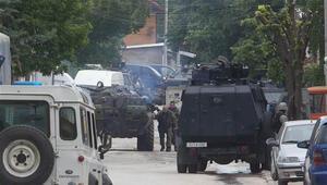 Makedonyada sıcak çatışma