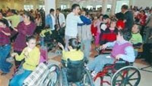 Engelliye büyük destek