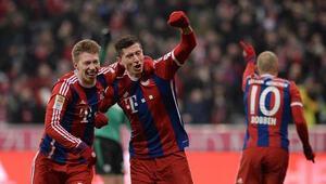 Bayern Münihe bir haller oldu