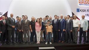 Liseler arası Kısa Film Yarışması ödül töreni