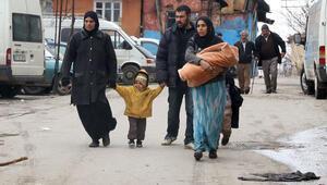 Mültecilerin kışla savaşı