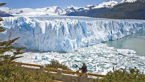 Dünyanın en güney ucunda, kalbimi çalan mavi buzulun yanı başında