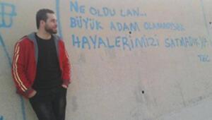 Alevilerden Ahmet Atakan eylemi