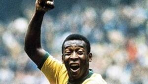 Brezilyalı efsane Peleye büyük onur