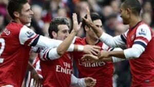 Londra derbisinde Arsenal fırtınası: 5-2