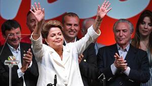 Brezilyada Rousseff yeniden başkan