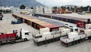 Mermer ihracatının yüzde 35i Antalya Limanından