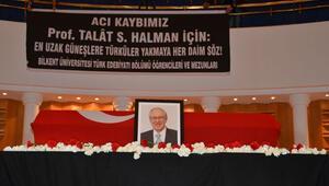 İlk Kültür Bakanı Talat Sait Halman için tören