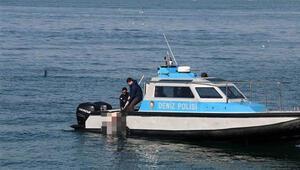 Üsküdar'da denizde ceset bulundu