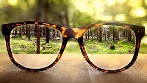 Problem gözlükte değil gözde olabilir