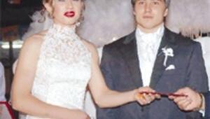 Şampiyonlar evlendi