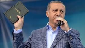 Cumhurbaşkanı Recep Tayyip Erdoğan Vanda konuştu