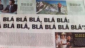 Dünya bu gazeteyi konuşuyor