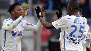 Lillei 2-1le geçen Marsilya devreyi lider bitirdi