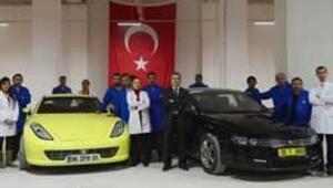 Başbakan Erdoğana söz verdi, elektrikli otomobil üretti