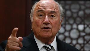 Blatter Filistini ziyaret etti