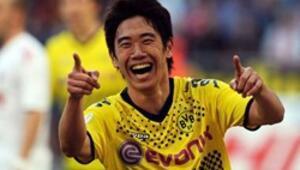 Kagawa resmen Manchester Unitedda