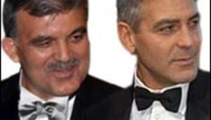 Gül, şimdi tam George Clooney
