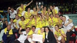 Sarı Melekler yine şampiyon