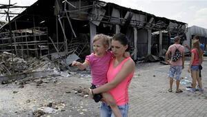 Ukraynada çatışmalar şiddetlendi