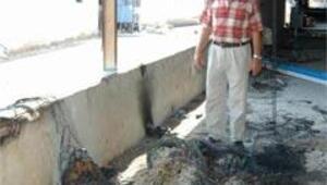 Eski CHP Merkez İlçe Başkanının çiftliğine saldırı