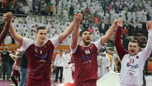 Katar hentbolde tarih yazdı