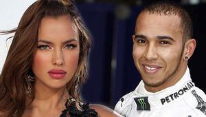 Yılın aşk bombası Irina Shayk-Lewis Hamilton...