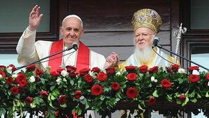 Papa ve Patrikten ortak selam