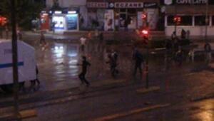Eskişehirde sabaha kadar süren Gezi eylemi