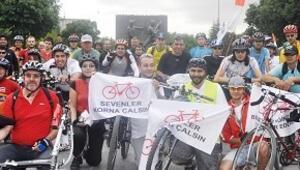 Başkent'te bisiklet şöleni